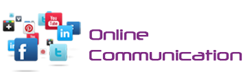 online communication logo